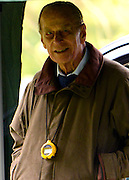 © Licensed to London News Pictures. 11/05/2013. Windsor, UK. HRH The Duke of Edinburgh. The Royal Windsor Horse Show, set in the grounds of Windsor Castle. Established in 1943, this year will see the Show celebrate its 70th anniversary. Photo credit : Stephen Simpson/LNP