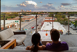 Atico, Fort Worth, Texas, USA. Atico is a Spanish tapas bar atop a Stockyards hotel and is owned by Tim Love.