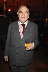 LORD WEIDENFELD at the Orion Authors Party held at the Royal Opera House, Covent Garden, London on 11th February 2008.<br /><br />NON EXCLUSIVE - WORLD RIGHTS