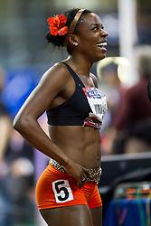 Millrose Games indoor track and field: womens 600 meters, Alysia Montano, USA, winner