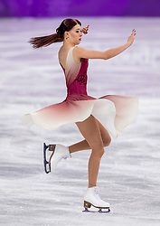 PYEONGCHANG-GUN, SOUTH KOREA - FEBRUARY 20: Ekaterina Bobrova and Dmitri Soloviev of Olympic Athlete from Russia compete in the Figure Skating Ice Dance Free Dance on day eleven of the PyeongChang 2018 Winter Olympic Games at Gangneung Ice Arena on February 20, 2018 in Gangneung, South Korea. Photo by Ronald Hoogendoorn / Sportida