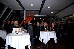 25.2.2011, Eisstadion Liebenau, Graz, AUT, EBEL, Graz 99ers vs EV Vienna Capitals, Pressekonferenz, nach dem Spiel, im Bild Bill Gilligan (Head Coach, Moser Medical Graz 99ers), EXPA Pictures © 2011, PhotoCredit: EXPA/ J. Hinterleitner