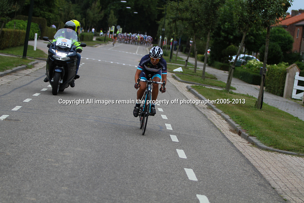 Boels Rental Ladies Tour Zaltbommel-Veen Anouska Koster in an attack