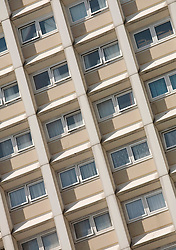 © Licensed to London News Pictures 18/09/2009.GV of Lambourne Court, a tower block on Orchard Estate, Woodford, north London..Photo/Anna Branthwaite.London, UK.Photo credit: Anna Branthwaite