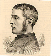 James Williams Adams (1839-1903) born in Cork, Ireland.  Served as a chaplain in the British Indian Army.  Awarded the Victoria Cross for an act of gallantry at Killa Kazi, Afghanistan, on 11 December 1879.  Engraving from 'The Graphic' (London, 17 December 1881).
