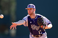 CHAPEL HILL, NC - FEBRUARY 27: High Point's Gabe Scavone. The University of North Carolina Tar heels hosted the High Point University Panthers on February 27, 2018, at Boshamer Stadium in Chapel Hill, NC in a Division I College Baseball game. UNC won the game 10-0.