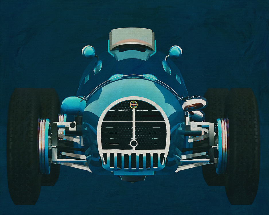 Gordini T16 Grand Prix 1952<br /> If you want to give your interior an extra stylish detail, this painting of an old racing car, a Gordini Grand Prix in Close Up, is perfect. – -<br /> <br /> BUY THIS PRINT AT<br /> <br /> FINE ART AMERICA<br /> ENGLISH<br /> https://janke.pixels.com/featured/gordini-grand-prix-close-up-front-side-jan-keteleer.html<br /> <br /> WADM / OH MY PRINTS<br /> DUTCH / FRENCH / GERMAN<br /> https://www.werkaandemuur.nl/nl/shopwerk/Gordini-T16-Grand-Prix-1952-Voorkant/571922/132