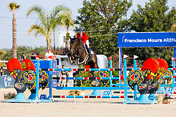 Putters Evelyne, BEL, Uith de Rotes<br /> FEI Jumping European Championships for Young Riders, Juniors, Children - Vilamoura 2021<br /> © Hippo Foto - Leanjo de Koster<br /> 20/07/2021