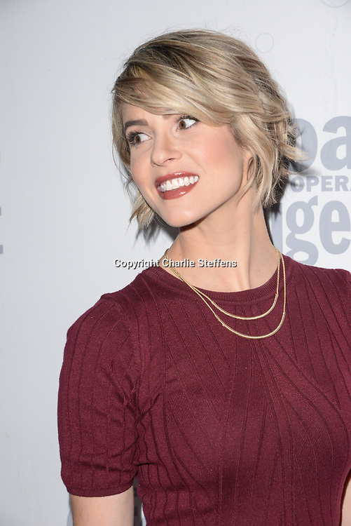 LINSEY GODFREY at Soap Opera Digest's 40th Anniversary party at The Argyle Hollywood in Los Angeles, California