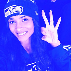 """Ciara releases a photo on Instagram with the following caption: """"I\u2019m so proud of my husband @DangeRussWilson for Leveling up and creating the best predictions game for all us sports fans \ud83c\udfc8. No dream is too big! Head to @playtallyapp and use code \u201ccsquad\u201d for a 10k point boost on your first game. You can win $100-$5k!!\n#3 all day for me \ud83d\udc83\ud83c\udffd\u263a\ufe0f\ud83d\ude4c\ud83c\udffd"""". Photo Credit: Instagram *** No USA Distribution *** For Editorial Use Only *** Not to be Published in Books or Photo Books ***  Please note: Fees charged by the agency are for the agency's services only, and do not, nor are they intended to, convey to the user any ownership of Copyright or License in the material. The agency does not claim any ownership including but not limited to Copyright or License in the attached material. By publishing this material you expressly agree to indemnify and to hold the agency and its directors, shareholders and employees harmless from any loss, claims, damages, demands, expenses (including legal fees), or any causes of action or allegation against the agency arising out of or connected in any way with publication of the material."""