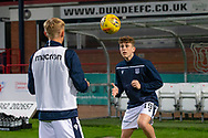 06/10/2020: Dundee FC train at Kilmac Stadium after their Betfred Cup match against Forfar Athletic was postponed due to a positive COVID test result for one of the Forfar players: Finlay Robertson of Dundee <br /> <br /> <br />  :©David Young: davidyoungphoto@gmail.com: www.davidyoungphoto.co.uk