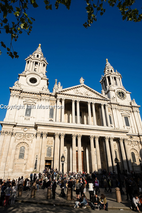St Paul's Cathedral in London United Kingdom