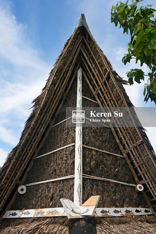 Men's house, Yap Island, Federated States of Micronesia
