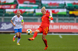 NEWPORT, WALES - Thursday, October 22, 2020: Wales' captain Sophie Ingle during the UEFA Women's Euro 2022 England Qualifying Round Group C match between Wales Women and Faroe Islands Women at Rodney Parade. Wales won 4-0. (Pic by David Rawcliffe/Propaganda)