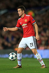 5th December 2017 - UEFA Champions League - Group A - Manchester United v CSKA Moscow - Ander Herrera of Man Utd - Photo: Simon Stacpoole / Offside.
