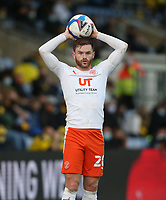 Blackpool's Oliver Turton<br /> <br /> Photographer Rob Newell/CameraSport<br /> <br /> Sky Bet League One Play-Off Semi-Final 1st Leg - Oxford United v Blackpool - Tuesday 18th May 2021 - Kassam Stadium - Oxford<br /> <br /> World Copyright © 2021 CameraSport. All rights reserved. 43 Linden Ave. Countesthorpe. Leicester. England. LE8 5PG - Tel: +44 (0) 116 277 4147 - admin@camerasport.com - www.camerasport.com