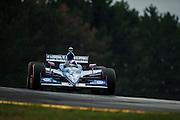 August 2011. Dario Franchitti, Indycar Honda Grand Prix of Ohio at Mid Ohio Sportscar Course in Lexington, OH.