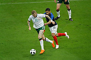 James McClean (IRL), Nabil FEKIR (FRA) during the FIFA Friendly Game football match between France and Republic of Ireland on May 28, 2018 at Stade de France in Saint-Denis near Paris, France - Photo Stephane Allaman / ProSportsImages / DPPI
