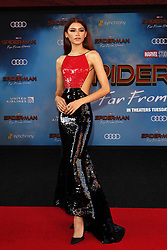 June 26, 2019 - Los Angeles, CA, USA - LOS ANGELES - JUN 26:  Zendaya at the ''Spider-Man Far From Home'' Premiere at the TCL Chinese Theater IMAX on June 26, 2019 in Los Angeles, CA (Credit Image: © Kay Blake/ZUMA Wire)