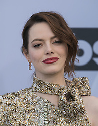 January 27, 2019 - Los Angeles, California, U.S - Emma Stone at the red carpet of the 25th Annual Screen Actors Guild Awards held at the Shrine Auditorium in Los Angeles, California, Sunday January 27, 2019. JAVIER ROJAS/PI (Credit Image: © Prensa Internacional via ZUMA Wire)