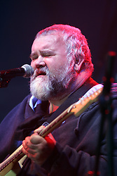 John Martyn on stage at the Isle of Skye festival, May 26, 2007..Pic ©2010 Michael Schofield. All Rights Reserved..