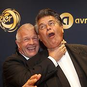 NLD/Amsterdam/20151015 - Televiziergala 2015, Peter Jan Rens en Emiel Ratelband