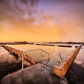 Gerringong Pool Sunset