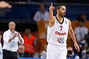 DESCRIZIONE : Kaunas Lithuania Lituania Eurobasket Men 2011 Quarter Final Round Spagna Slovenia Spain Slovenia<br /> GIOCATORE : Juan Carlos Navarro<br /> CATEGORIA : esultanza<br /> SQUADRA : Spagna Spain<br /> EVENTO : Eurobasket Men 2011<br /> GARA : Spagna Slovenia Spain Slovenia<br /> DATA : 14/09/2011<br /> SPORT : Pallacanestro <br /> AUTORE : Agenzia Ciamillo-Castoria/ElioCastoria<br /> Galleria : Eurobasket Men 2011<br /> Fotonotizia : Kaunas Lithuania Lituania Eurobasket Men 2011 Quarter Final Round Spagna Slovenia Spain Slovenia<br /> Predefinita :