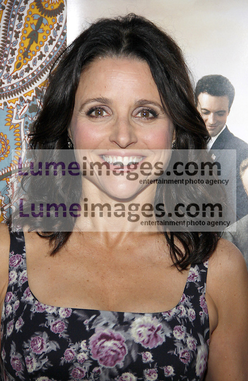 """Julia Louis-Dreyfus at the HBO's Season 3 premiere of """"Veep"""" held at the Paramount Studios in Hollywood, USA on March 24, 2014."""