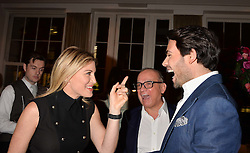 Left to right, Hofit Golan, Touker Suleyman and Mark-Francis Vandelli at the Debrett's 500 Party recognising Britain's 500 most influential people, held at BAFTA, 195 Piccadilly, London England. 23 January 2017.<br /> No UK magazines - contact www.silverhubmedia.com