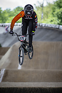 #625 (FUENTES AVELLANO Andres) ESP at Round 5 of the 2019 UCI BMX Supercross World Cup in Saint-Quentin-En-Yvelines, France