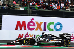 Nico Hulkenberg (GER) Sahara Force India F1 VJM09.<br /> 28.10.2016. Formula 1 World Championship, Rd 19, Mexican Grand Prix, Mexico City, Mexico, Practice Day.<br /> Copyright: Batchelor / XPB Images / action press
