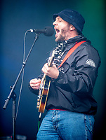 The Institutes  live at the  Bigfoot Festival   Ragley Hall Warwickshire one of the first festivals to open successfully in 2021,photo by Brian Jordan