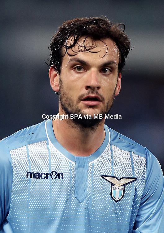 Italian League Serie A -2015-2016 / <br /> ( SS Lazio ) - <br /> Marco Parolo