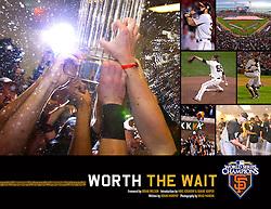 Worth The Wait book, 2010 World Series Champion Giants