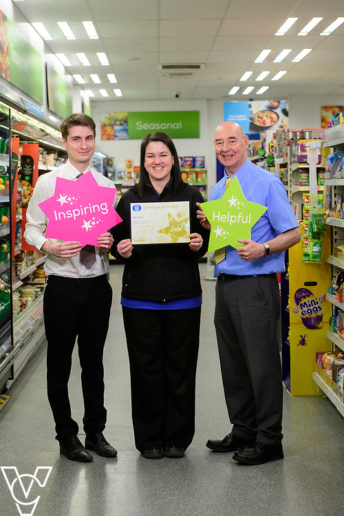 Kelly Slow, team leader/CLR at the Lincolnshire Co-op's Bracebridge Heath food store, was awarded Colleague of the Year at the society's colleague awards night - Celebrating Together<br /> <br /> Picture: Chris Vaughan Photography for Lincolnshire Co-op<br /> Date: March 28, 2019