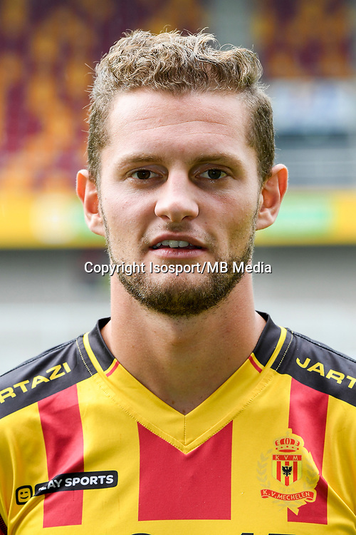 20170706 - Mechelen, Belgium / Photoshoot Kv Mechelen 2017 - 2018 / <br /> Mats RITS<br /> © Isosport