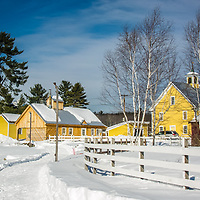 Winter at Remick Farm and Museum