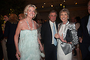 HILARY WESTON; LORD ASTOR; LADY SPENCER-CHURCHILL, The Cartier Chelsea Flower show dinner. Hurlingham club, London. 20 May 2013.
