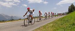 01.07.2012, Innsbruck, AUT, 64. Oesterreich Rundfahrt, 1. Etappe, EZF Innsbruck, im Bild Danilo Napolitano (ITA) during the 64rd Tour of Austria, Stage 1, Individual time trial in Innsbruck, Austria on 2012/07/01