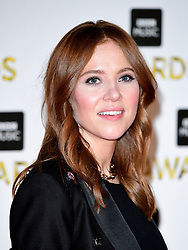 Angela Scanlon attending the BBC Music Awards at the Royal Victoria Dock, London. PRESS ASSOCIATION Photo. Picture date: Monday 12th December, 2016. See PA Story SHOWBIZ Music. Photo credit should read: Ian West/PA Wire