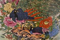 Peacocks in art, Dehong Prefecture, Yunnan Province, China