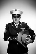 Tessa Kain<br /> Marine Corps<br /> E-4<br /> Motor T Mechanic<br /> 07/09/06-07/09/10<br /> OEF<br /> <br /> Veterans Portrait Project Photo by Stacy L. Pearsall