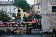 Italy, The Dolomites, Lake Garda, The Garda fortress