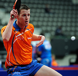 09-05-2011 TAFELTENNIS: WORLD TABLE TENNIS CHAMPIONSHIPS: ROTTERDAM<br /> Boris de Vries<br /> ©2011-FotoHoogendoorn.nl