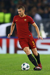 October 31, 2017 - Rome, Italy - Edin Dzeko of Roma during the UEFA Champions League group C match between AS Roma and Chelsea FC at Stadio Olimpico on October 31, 2017 in Rome, Italy. (Credit Image: © Matteo Ciambelli/NurPhoto via ZUMA Press)