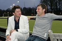 BLOEMENDAAL - Floris Jan Bovelander met Beau van Erven Dorens.  COPYRIGHT KOEN SUYK