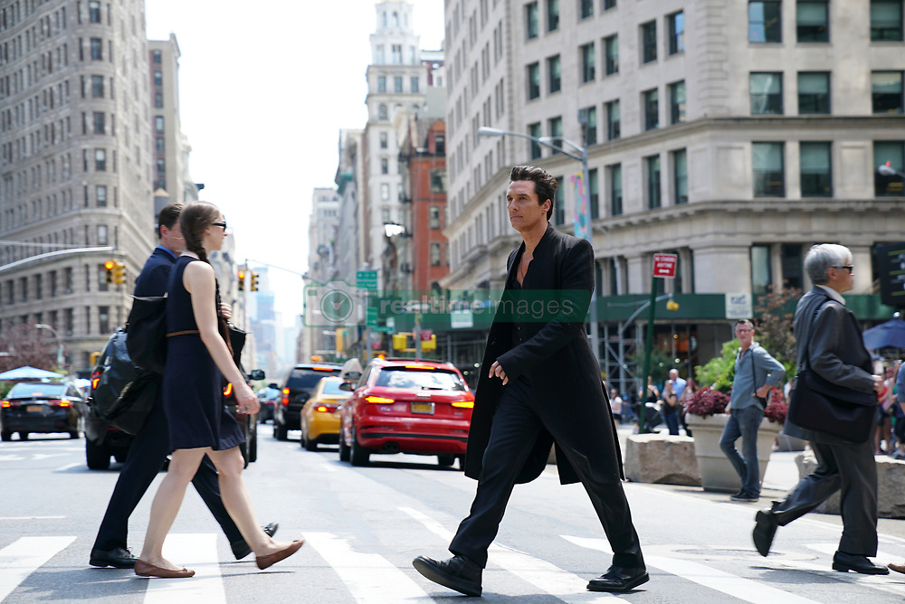 Walter (Matthew McConaughey) in New York City in Columbia Pictures THE DARK TOWER.