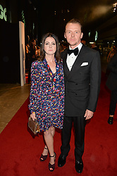 SIMON PEGG and MAUREEN PEGG at the GQ Men of The Year Awards 2016 in association with Hugo Boss held at Tate Modern, London on 6th September 2016.