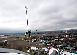 03.02.2019, Energie AG Skisprung Arena, Hinzenbach, AUT, FIS Weltcup Ski Sprung, Damen, im Bild Maren Lundby (NOR) // Maren Lundby (NOR) during the woman's Jump of FIS Ski Jumping World Cup at the Energie AG Skisprung Arena in Hinzenbach, Austria on 2019/02/03. EXPA Pictures © 2019, PhotoCredit: EXPA/ Reinhard Eisenbauer